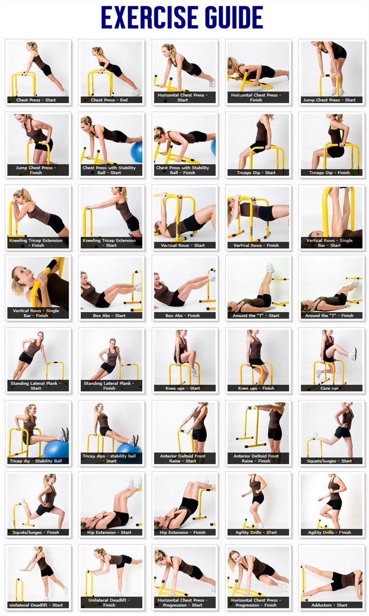 Parallete Equalizer Dip Bar - Exercise