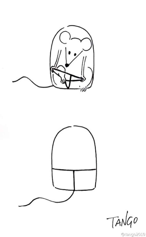 Las ingeniosas y simples ilustraciones de este artista te harán replantear todo…