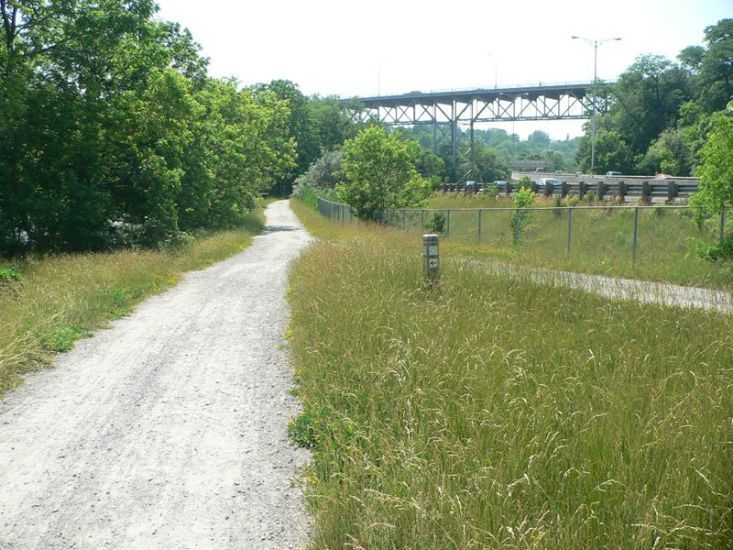 The Merritt Trail is an historic trek across land that has a natural beauty all of its own. Some sections of the trail are intermittent, therefore, if you wish to follow the trail from beginning to end it is advisable to pick up a map. History enthusiasts will thoroughly enjoy viewing many of the old sections of the once active second Welland Canal.  Walking Distances St. Paul & Queen Sts - 6 minutes St. Paul & Ontarios Sts - 4 minutes