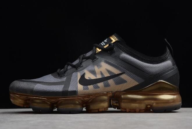 Nike Air VaporMax 2019 Black Metallic Gold AR6631-002  e90d56a9e