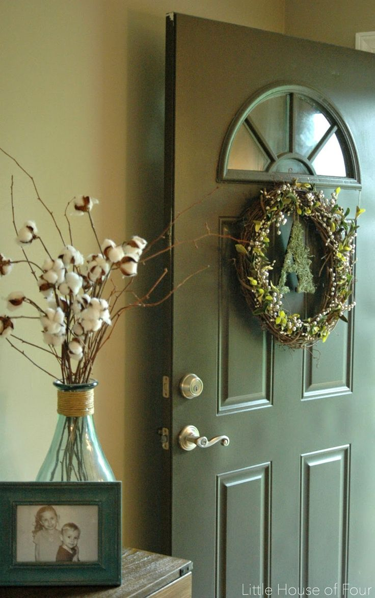 "Little House of Four: ""A"" New Fall Wreath"