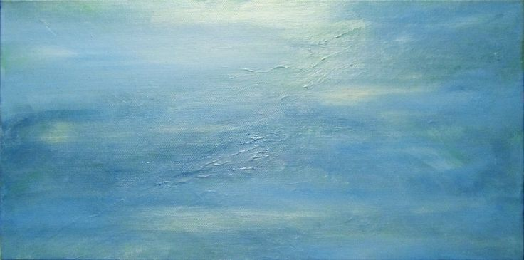 Calm by Ange Hart. Acrylic on canvas.
