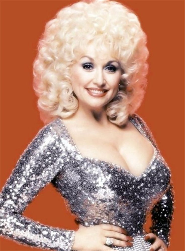 Dolly Parton Short Loose Curly Synthetic Capless Hair Wigs ...
