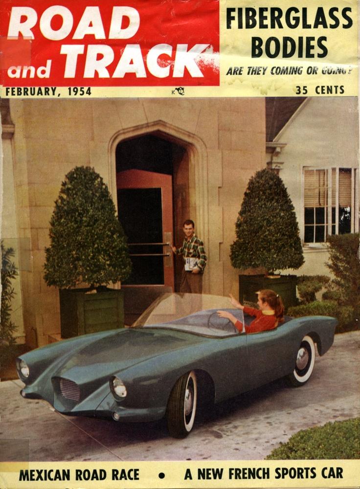 1953 Panhard Dyna-voiture de sport - Conçu par Howard Dutch Darrin