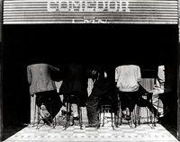 Los Agachados the crouched ones Mexico by Manuel Alvarez Bravo