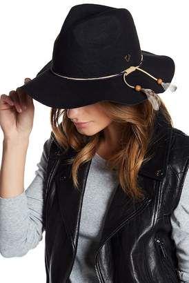 ce64af30 True Religion Feather Trim Fedora #hat #womens Fedora Hat, True Religion,  Nordstrom