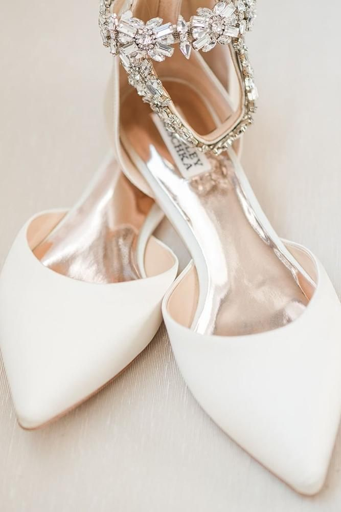 78b001d85 27 Flat Wedding Shoes For Lovers Of Comfort   Style ❤ flat wedding shoes  white