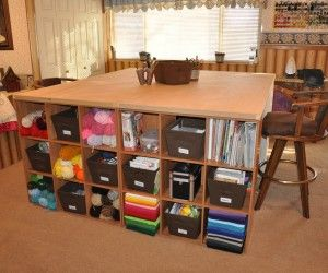 12 Inspiring Large Craft Tables Digital Image Design