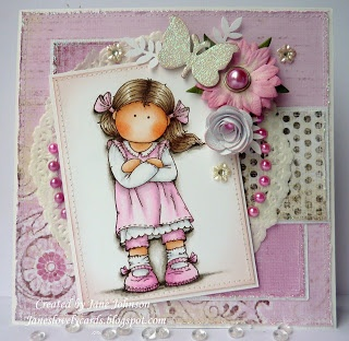 Jane's Lovely Cards: A hAnglar for CLP challenge and Lovely hAnglar Only