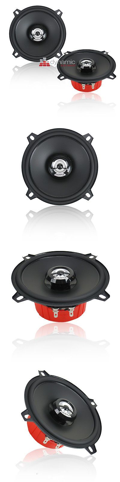 Car Speakers and Speaker Systems: Hertz Dcx 130.3 5 1/4 Dieci Series 2-Way Car Audio Coaxial Speakers New -> BUY IT NOW ONLY: $79.95 on eBay!