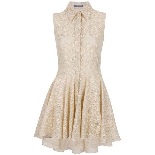 Alexander McQueen Lace Blouse Dress