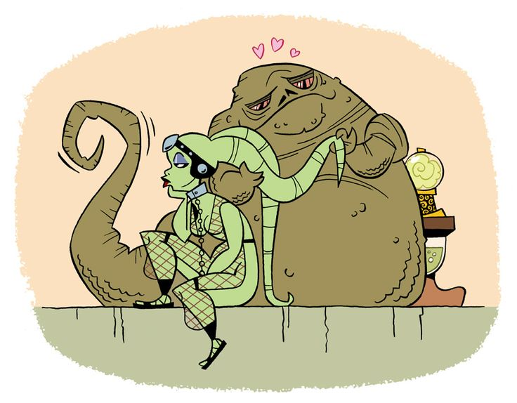Uploaded to PinterestOola And Leia Submit To Jabba