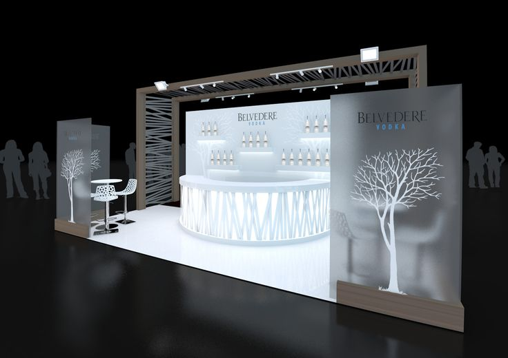 Exhibition Stand Design:  Stand Design created for Belvedere Vodka for their upcoming exhireferbition at Imbibe 2013. Look out for the design for the other side of the stand in our collection www.ddex.co.uk