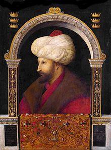 Fatih Sultan Mehmet-  He conquered Constantinople