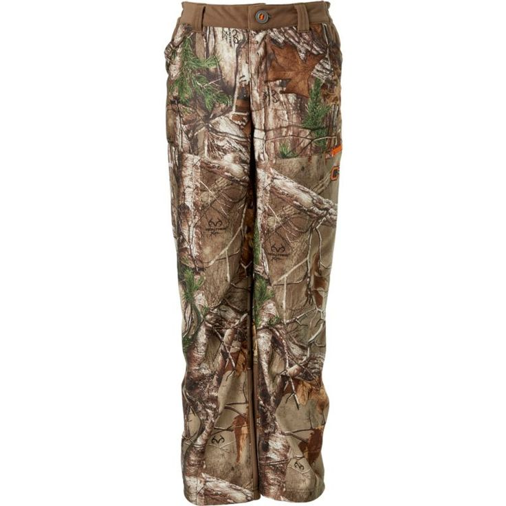 Field & Stream Youth Every Hunt Softshell Hunting Pants, Kids Unisex, Size: Medium, Brown