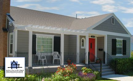 Front Entry Steps Ideas | Porch Designs to Show the Dramatic Difference a Front Porch Makes