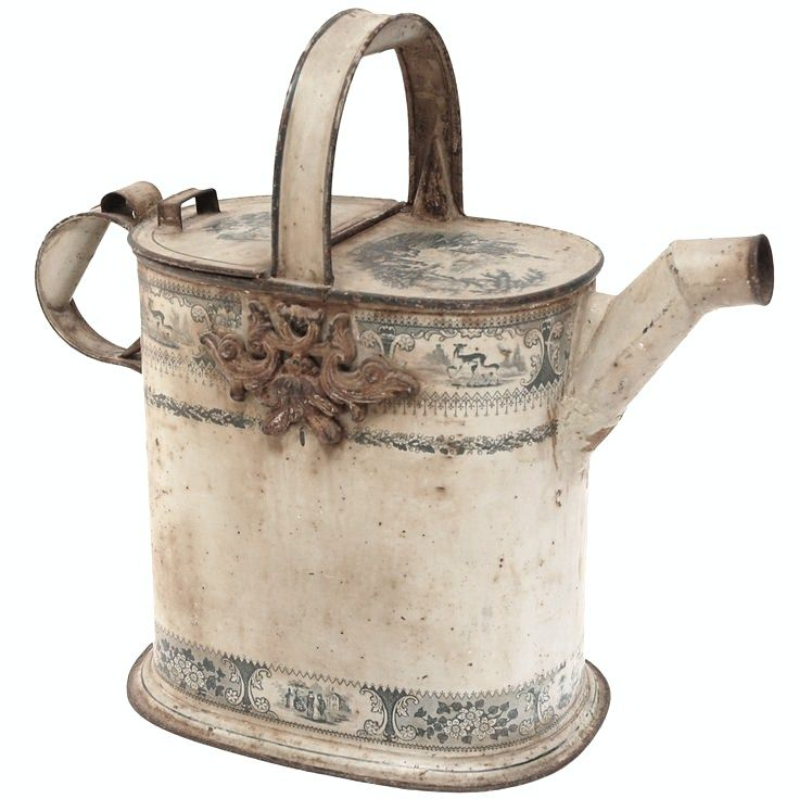 Antique watering can 1st dibs watering cans pinterest antiques chang 39 e 3 and decorative - Sprinkling cans ...