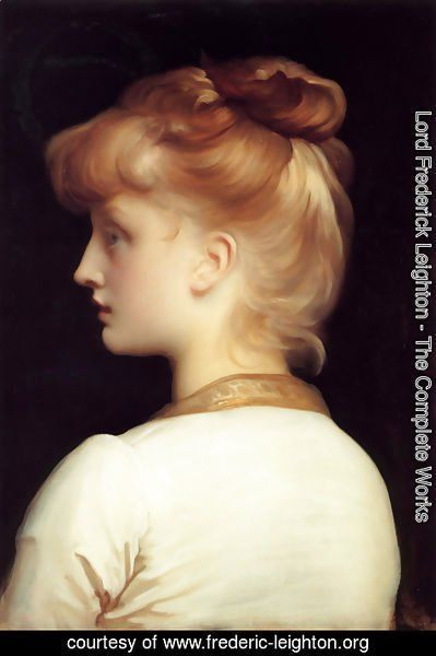 Lord Frederick Leighton - A Girl