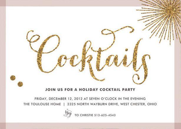 Cocktail Wedding Reception Invitation Wording: Prácticas / Inspiración