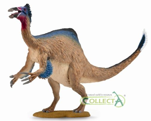 The new for 2016 Deinocheirus model from CollectA. Available from Everything Dinosaur in 2016.