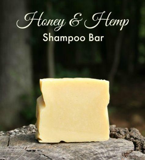 Honey and Hemp Shampoo Bar Recipe and Cold Process Soap Making Book Review | Herbs and Oils Hub