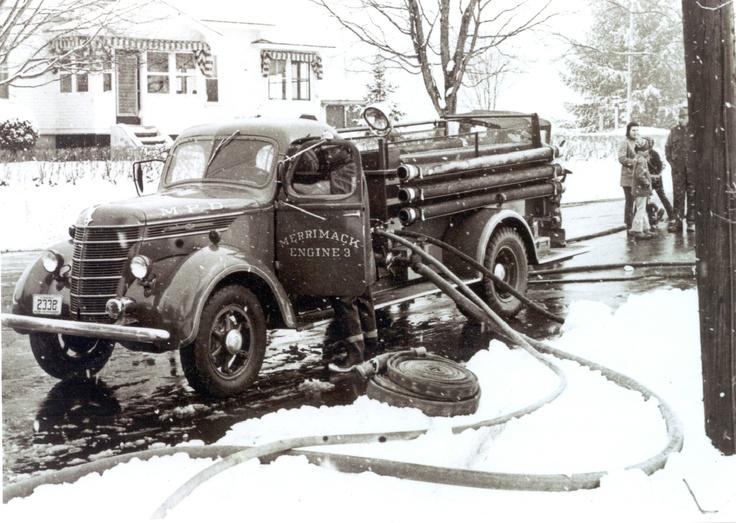 203 Best Old Fire Trucks Images On Pinterest