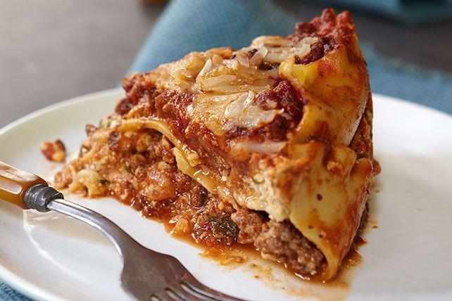 Grâce à cette recette, vous pourrez profiter de la journée et savourer une lasagne en rentrant à la maison.