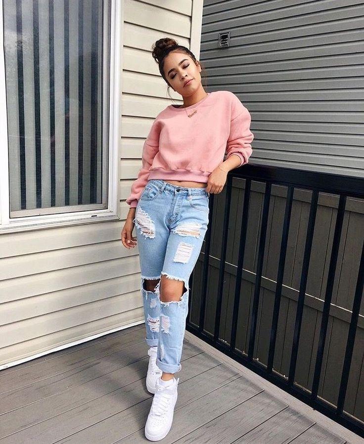 20 Outfits con toques rosas para niñas fresas | pretty