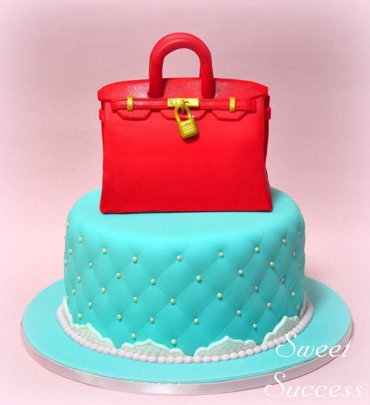 Hermes Birkin Bag Cake 2