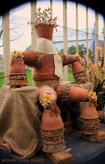 The flower pot man.