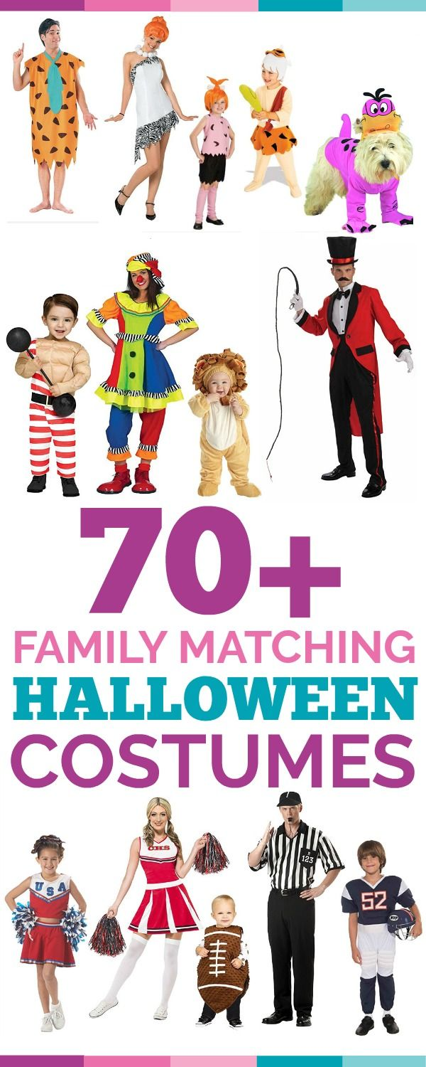 Dress up your whole family in these cute, creative and cool Halloween costumes. Dress up yourself, your kids, toddler, and baby in these not so scary and themed costumes and win the prize for the best Halloween costume this year!