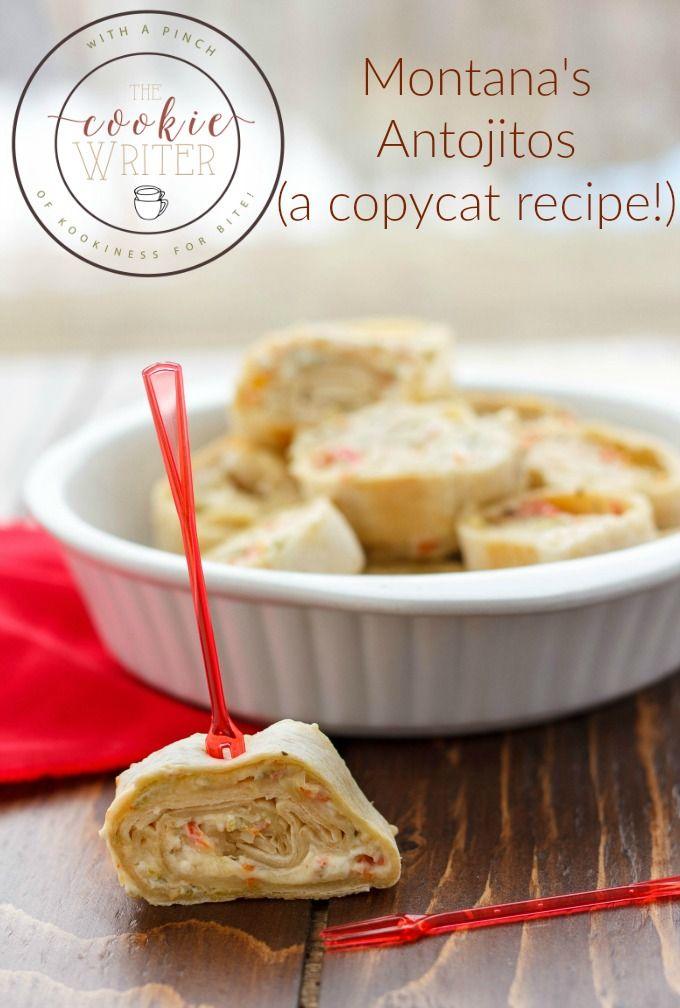 Montana's Antojitos Recipe   http://thecookiewriter.com   @thecookiewriter   #appetizer