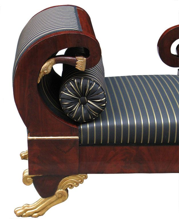 1stdibs.com | Magnificent Portuguese Empire Recamiere/Daybed