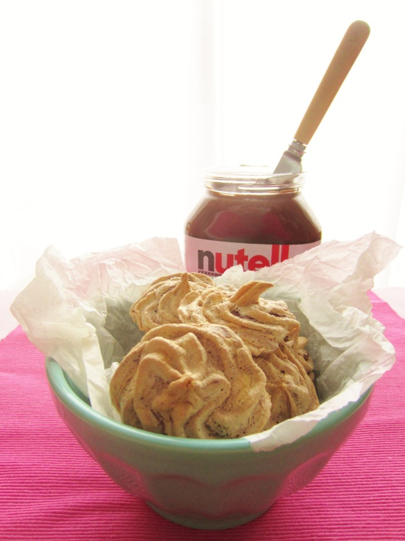 Nutella Meringue