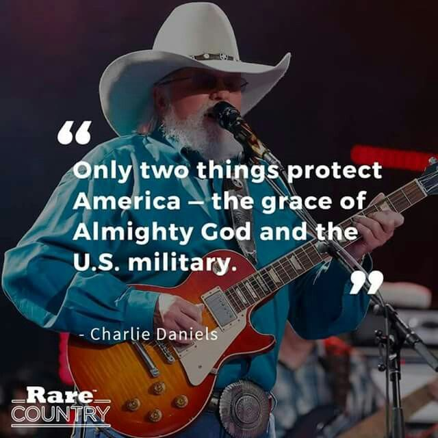 Charlie went to Iraq to entertain the troops.  Great American.