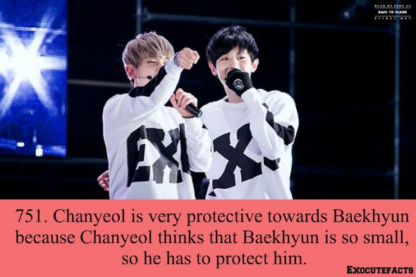 [EXO facts] I feel like this was made up by ChanBaek shippers, but pinning anyway cause it's cute ♥