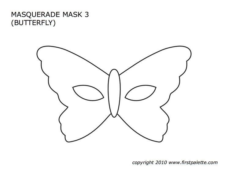 butterfly mask template images galleries with a bite. Black Bedroom Furniture Sets. Home Design Ideas