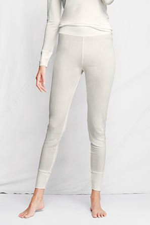 Lands' End - silk long johns might seem extravagant for a gal living hand to mouth like Andi. But there's not a more breathable fabric than silk and warm for those light cold days.