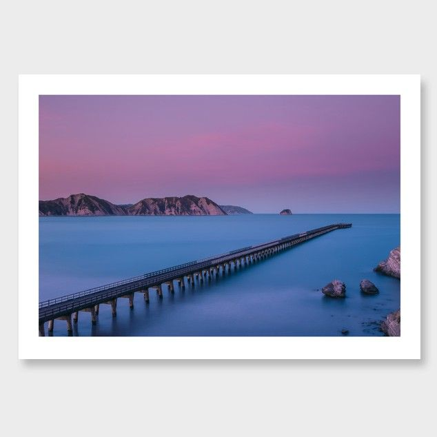 The Warf - Tolaga Bay, photographic print Mike Mackinven, from Endemic World. #placesandgraces #collection #endemicworld #mikemackinven #artprint #photographicprint #nzart