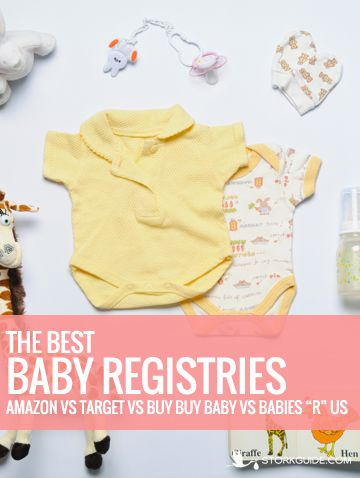 Best baby registry sites. Which one should you use?