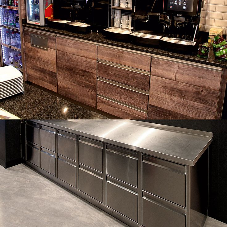 Aichinger: Back.STAGE steel and decor: individual refrigeration furniture
