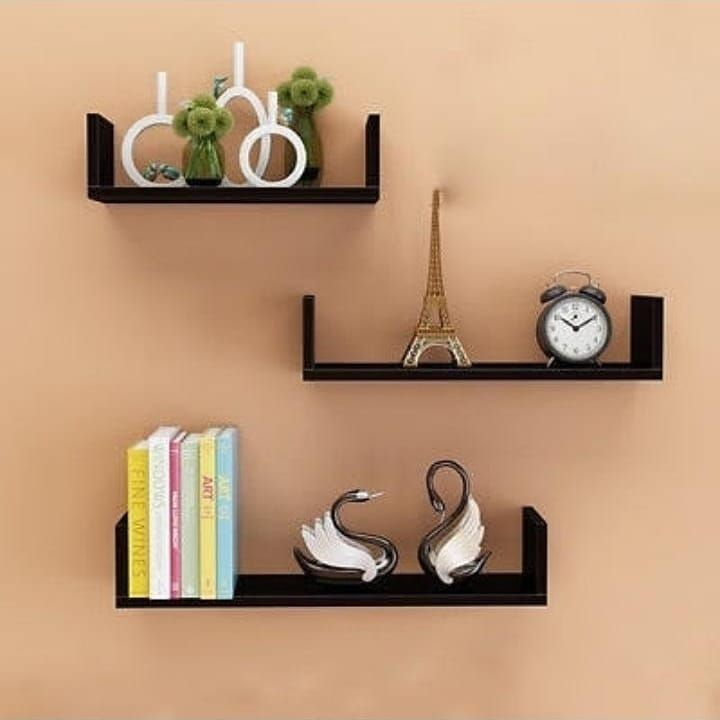 New The 10 Best Home Decor With Pictures U Shaped Floating Shelf Feature Set Of 3 U Wall Shelves Offer A U Floating Shelves Decorative Pieces Shelves