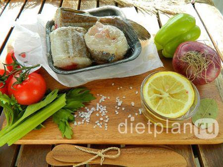 Рыба с овощами: наш белковый обед    Dietplan.ru