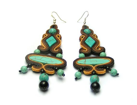 Sutasz-Anka: Isis- earrings http://www.soutage.com/2012/08/isis-kolczyki.html