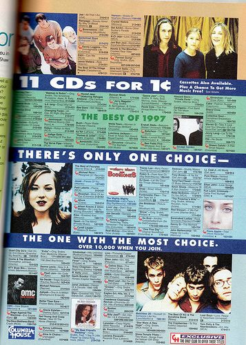 columbia house seventeen magazine 1998 childhood