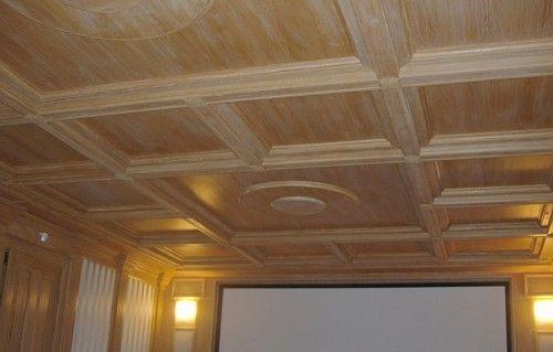 Деревянный потолок своими руками | Строительный портал