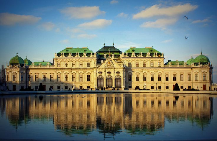 schloss belvedere-Vienna