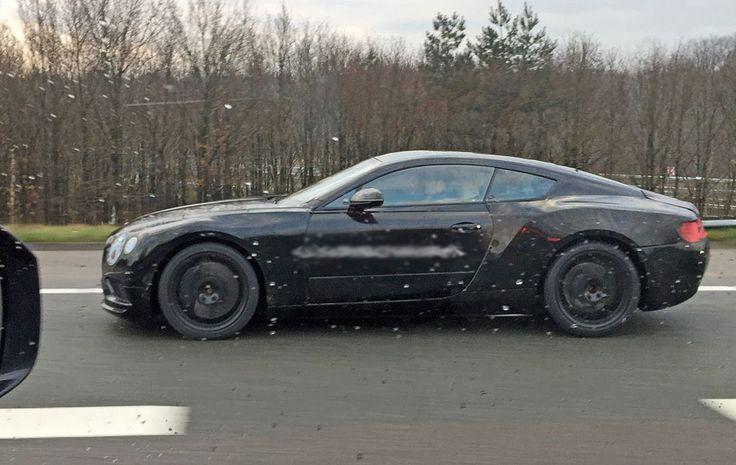 2017 Bentley Continental GT spy shots
