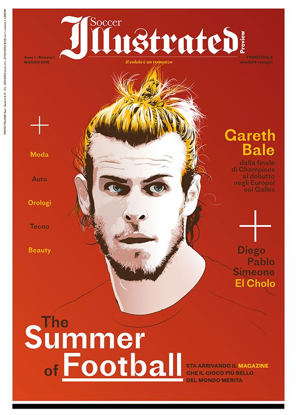 Soccer Illustrated   Cover Illustration on Wacom Gallery