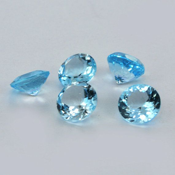 10 mm Round Shape approx  21.30 Ct Natural Blue by DevmuktiJewels